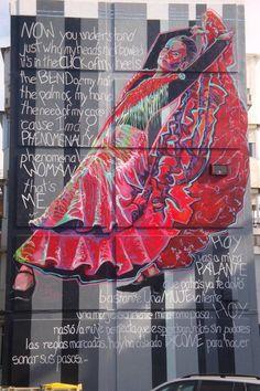 Flamenco graffiti