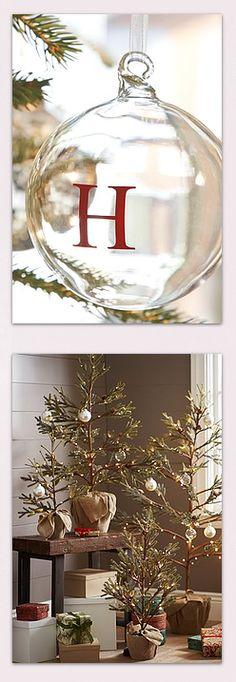 Christmas pretties // Pottery Barn #Christmas #TistheSeason
