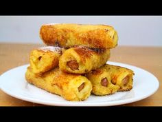 French Toast Pigs In A Blanket - YouTube
