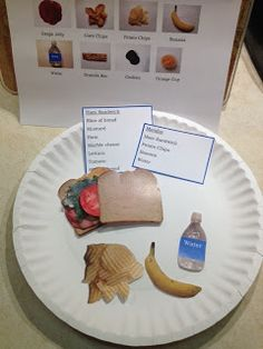 Making lunches life skills printable task