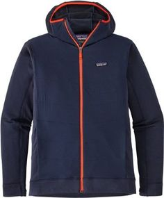 Patagonia Men's Crosstrek Hybrid Hoodie Fleece Jacket Navy Blue XL