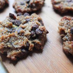 Healthy Vegan Gluten Free Chocolate Chip Hazelnut Cookies