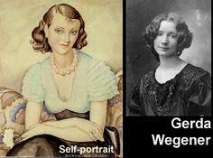 Art Now and Then: Gerda Wegener