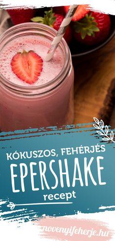 Kókuszos és krémes! Ebben a shake-ben az eper alkot édes harmóniát a kókuszos fehérjével. Ha édesszájú vagy, mindenképp próbáld ki. Edzés utáni regenerációhoz is kiváló választás. Recept a weboldalunkon!