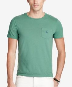 POLO RALPH LAUREN Polo Ralph Lauren Men'S Jersey Pocket T-Shirt. #poloralphlauren #cloth #shirts