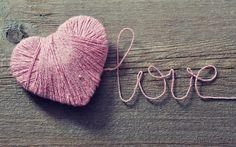 3840x2400 Wallpaper love, heart, strings, romance