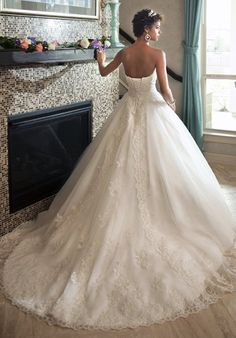 1 Wedding by Mary's Bridal 6218 Ball Gown Wedding Dress