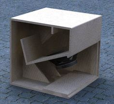 Cubo 15 is the previous generation of Cubo The size of it is 62 x 62 x in height x width x depth. The frequency starts from 40 Hz . 15 Subwoofer Box, Subwoofer Box Design, Speaker Box Design, Subwoofer Speaker, Pro Audio Speakers, Diy Speakers, Built In Speakers, Speaker Plans, Sub Box