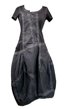 Rundholz Black Label Asymmetrical Bubble Bottom Dress in Grey » Women's Clothing » Dresses » Santa Fe Dry Goods | Clothing and accessories from designers including Issey Miyake, Rundholz, Yoshi Yoshi, Annette Görtz and Dries Van Noten