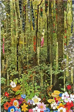 Collage Works on Ben Lewis Giles Collages, Collage Art, Sun Painting, Magazine Collage, More Wallpaper, Flowers Nature, Cute Art, Artsy Fartsy, Wood Art