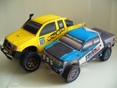 Built by Tetsuya Hara   Rally Truck paper model: 4×4 Service Valkenburg (Free Model)