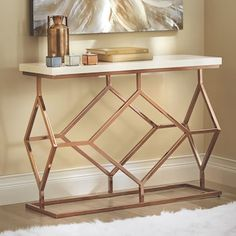 Do you need some living room design inspiration? Check out these awesome examples of Luxury Furniture Design for your contemporary living room specifically Modern Console Tables Do you need some living room design Colorful Furniture, Metal Furniture, Luxury Furniture, Furniture Decor, Furniture Design, Modern Console Tables, Iron Decor, Interior Design Inspiration, Decoration