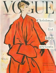 Publication Name | November 1 1953 Pinup, Christian Dior, Vintage Vogue Covers, Vogue Magazine Covers, Black White, Fashion Cover, Retro, Fashion History, Cover Art