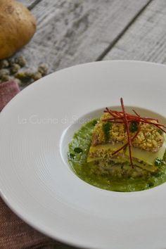 La Cucina di Stagione: Millefoglie di alici e patate su crema di broccoli