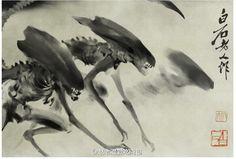 中国の水墨画に「エイリアン」が描かれていると話題に /中国ネットユーザー「エイリアン中国起源説浮上(笑)」 | ロケットニュース24