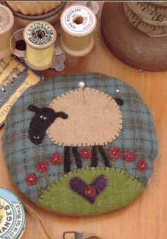 pin cushion - Wool Felt