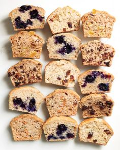 How to make blueberry muffins with way less fat - great for lunchbox snacks.