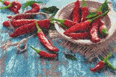 #PhotoStitch Machine Embroidery Design Chile Pepper Embroidered Picture Home Clothes Decor  Embroidery pattern   Design Size:  6,7 X 10 inches        (170X255mm) Number of c... #photostitch ➡️ http://jto.li/5vLT2