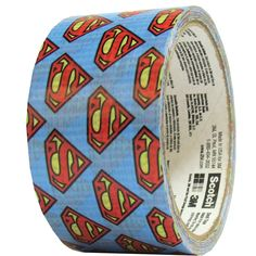 Scotch Colored Duct Tape 1 78 x 10 Yd Superman by Office Depot