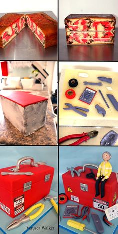 Electrical tool box by Verusca Walker