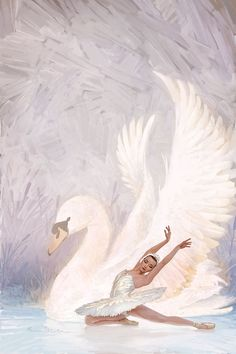 Swan Lake by Mark Molchan Best Picture For break Dancing Drawings For Your Taste You are looking for Ballerina Painting, Ballerina Art, Ballet Art, Ballet Dance, Ballet Drawings, Dancing Drawings, Art Drawings, Swan Lake Ballet, Lake Painting