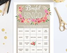 Trendy Wedding Planning Maid Of Honor Shower Games Bridal Shower Bingo, Bridal Bingo, Printable Bridal Shower Games, Wedding Shower Games, Wedding Games, Wedding Planning, Bridal Showers, Trendy Wedding, Unique Weddings