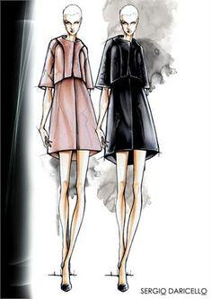 Bozzetto Primavera Estate 2014 #FashionSketches