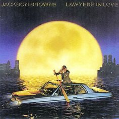 Jackson Browne - Lawyers In Love CANADA 1983 Lp nm w/Inner