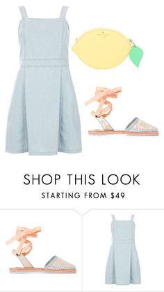 """""""Untitled #272"""" by kenzie-raye13 on Polyvore featuring Sophia Webster, Dorothy Perkins and Kate Spade"""