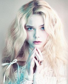"""Elle Fanning in """"Angels and Demons"""" for LOVE #6 photographed by Mert and Marcus"""