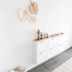 DIY Vintage Buffet in Kreideweiss ⋆ elfenweiss Ikea Inspiration, Trones Ikea Hack, Ikea Hack Bathroom, Vintage Buffet, Small Vanity, Hacks Diy, Ikea Hacks, Boho Diy, Love Home
