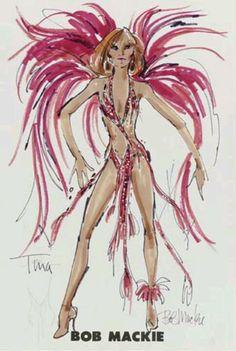 Tina Turner -Bob Mackie ♥✤#sexy ✿✿ڿڰۣ(̆̃̃-- ♥ NYrockphotogirl