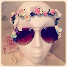 Floral crown - festival style