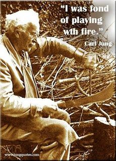 Carl Jung Depth Psychology: An old secret fire burns between us...