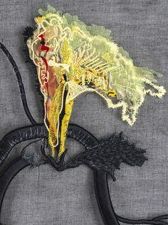 Detail of Jacky Puzey piece