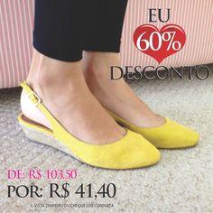 Bom Dia Koquinas! Hoje tem descontos? Tem sim!!! Aproveitem, últimos pares. #koquini #sapatilhas #euquero