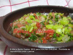 .COCINA CHILENA: ANTICUCHOS ,PEBRE Y SOPAIPILLAS