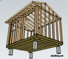 Instructions and plans for DIY sheds