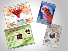 Single page flyer and visual aid for medical company