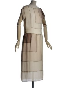 A gorgeous art deco summer dress by Vionnet, 1922.OH MY GOSH!!! IT'S THE DRESSES FROM Oh, Kay!