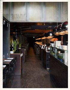 Restaurant ENVY; Bib Gourmand! Lunch Fri./Sat./Sun. 12.00 - 15.00 Diner Mon. till Sun. 18.00 - 1.00 (kitchen open till 23.00) Prinsengracht 381 1016 HL Amsterdam +31 20 344 64 07