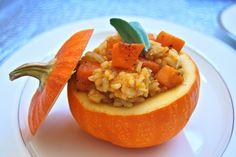 Risotto alla Zucca fatto con il Bimby LEGGI LA RICETTA ► http://www.ricette-bimby.com/2011/01/risotto-alla-zucca-bimby-con-provolone.html