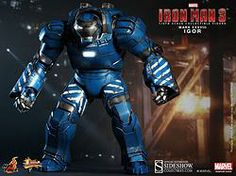 Hot Toys 1/6 scale action figure: IRON MAN MARK 38 - IGOR. Product available in december 2014.