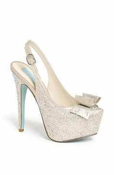 Blue by Betsey Johnson 'Toast' Pump available at #Nordstrom | Your Something Blue
