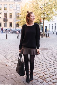 Polienne | a personal style diary: FALLING LEAVES