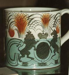 Commemorative George VI, Wedgwood, Eric Ravilious mug by Royal Pavilion & Brighton Museums, via Flickr