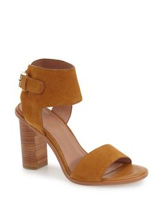 opal sandal with stacked heel
