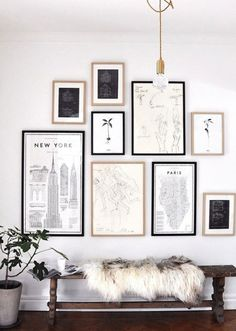 19 Tips to Make a Black and White Gallery Wall | StyleCaster