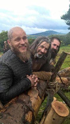 Season 4 previews of Vikings.
