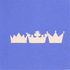 Princess Wall Decal  Crowns  Baby Nursery Decal by SpecialCuts, $4.00